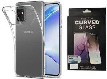 Etui pancerne SPIGEN LIQUID CRYSTAL Samsung Galaxy S20+ PLUS CRYSTAL CLEAR +szkło UV