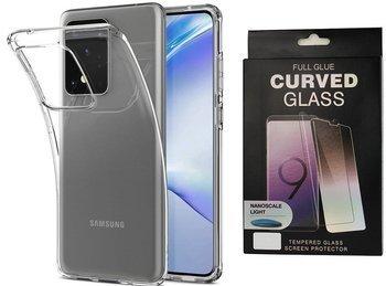 Etui pancerne SPIGEN LIQUID CRYSTAL Samsung Galaxy S20 ULTRA CRYSTAL CLEAR +szkło UV