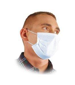 Maska medyczna ochronna maseczka chirurgiczna 3-warstwowa mix kolor 50 sztuk