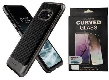 SPIGEN NEO HYBRID GALAXY S10E GUNMETAL +szkło 5D UV