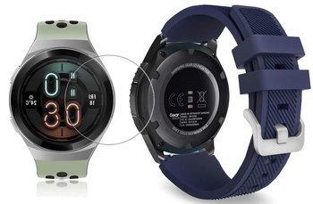 TECH-PROTECT SOFT opaska pasek bransoleta BAND Huawei Watch GT 2e 46mm MIDNIGHT BLUE +szkło