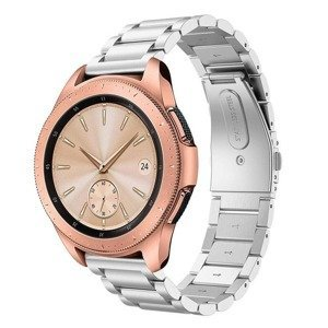 opaska pasek bransoleta (20mm) STAINLESS Huawei Watch GT 2 42mm SILVER