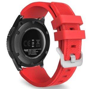 opaska pasek bransoleta (22mm) SOFTBAND Garmin Vivoactive 4 / Chronos RED