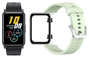 opaska pasek bransoleta SMOOTHBAND Huawei Watch FIT miętowa +szkło 5D
