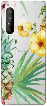 etui kwiaty i ananasy