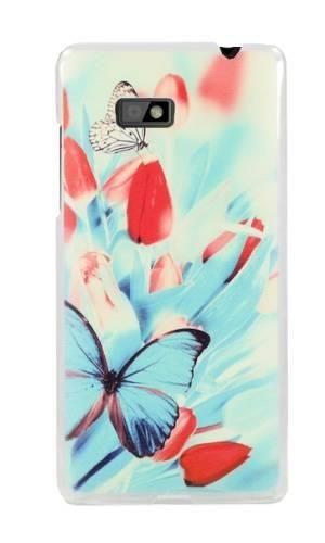 etui motyle i tulipany