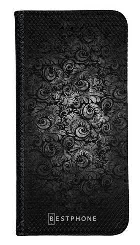 wallet case czarne wzorki