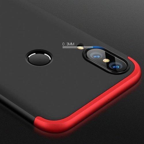 360 Protection etui na całą obudowę przód + tył Huawei P20 Lite niebieski