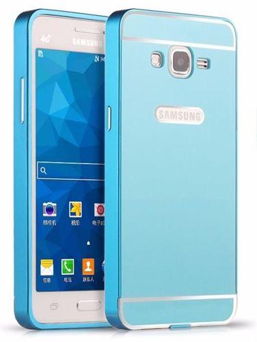 BUMPER ALU Samsung Galaxy GRAND PRIME niebieski