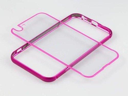 BUMPER CLEAR Samsung Galaxy S7 złoty