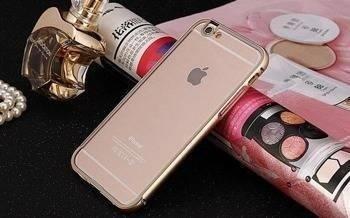 BUMPER CLEAR iPhone 6 złoty