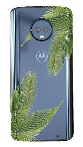 Boho Case Motorola Moto G6 Plus liście palmowe