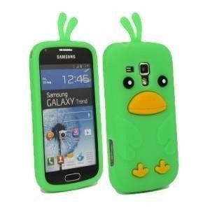 CHICKEN Samsung Galaxy TREND zielony