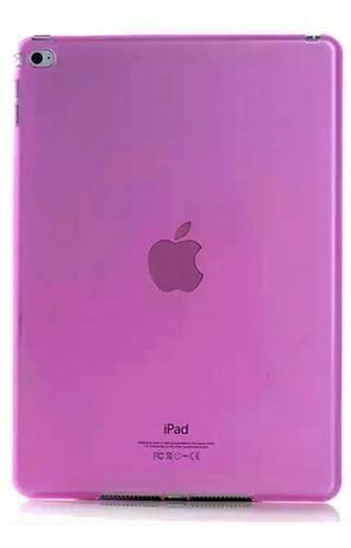 CLEAR iPad MINI 4 różowy