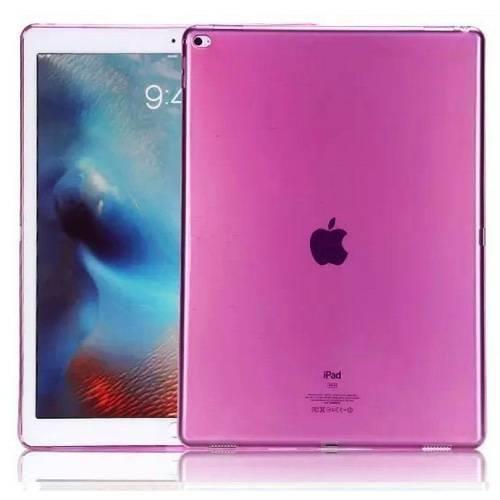 "CLEAR iPad PRO 12.9"" różowy"