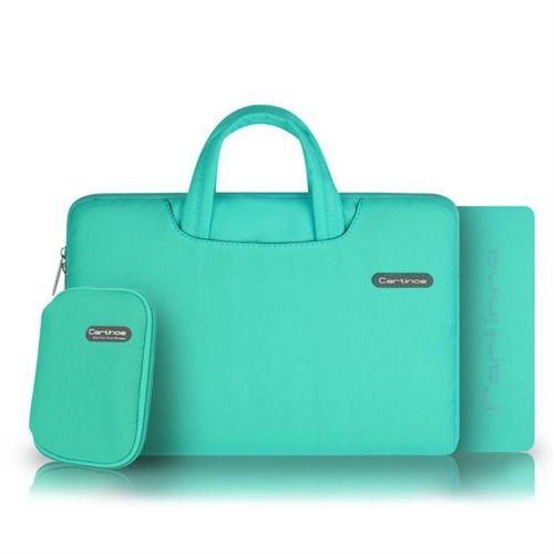 Cartinoe torba na laptopa Ambilight Series 13,3 cala turkusowy