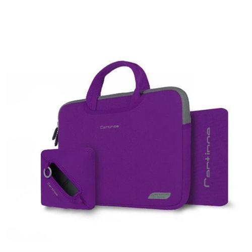 Cartinoe torba na laptopa Breath Series 13,3 cala fioletowa