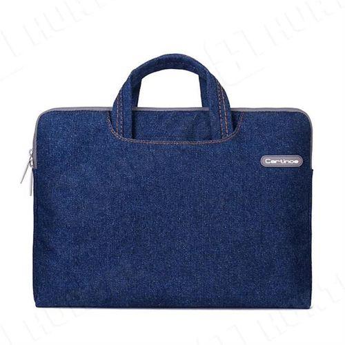 Cartinoe torba na laptopa Jean Series 13,3 cala niebieska