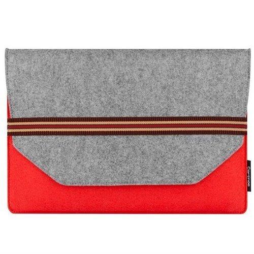 Cartinoe torba na laptopa Kammi Series 13,3 cala czerwona