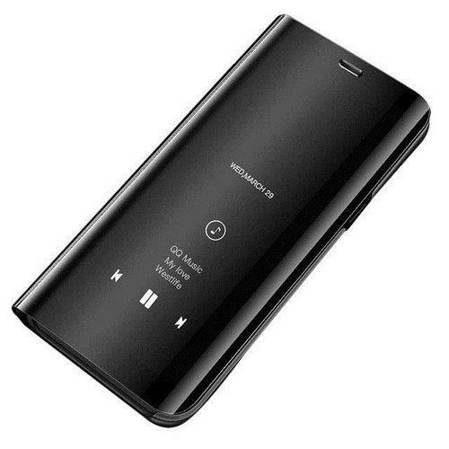 Clear View Case futerał etui z klapką Huawei Mate 20 Lite czarny
