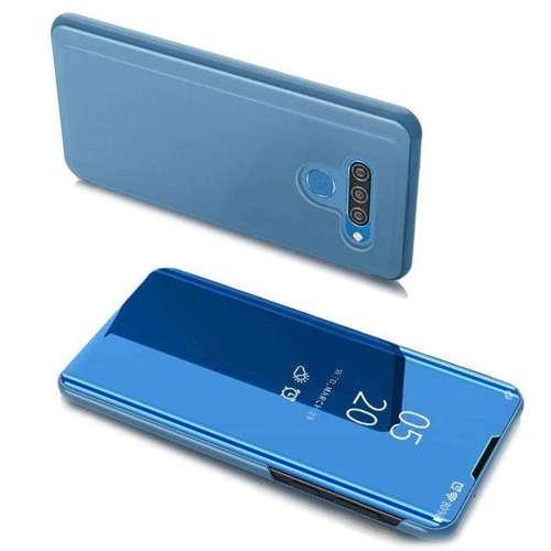 Clear View Case futerał etui z klapką LG K51S / LG K41S niebieski