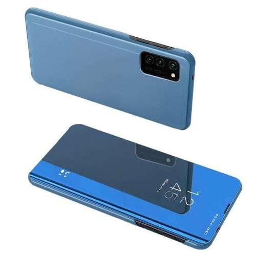 Clear View Case futerał etui z klapką Oppo Reno3 / A91 / F15 niebieski