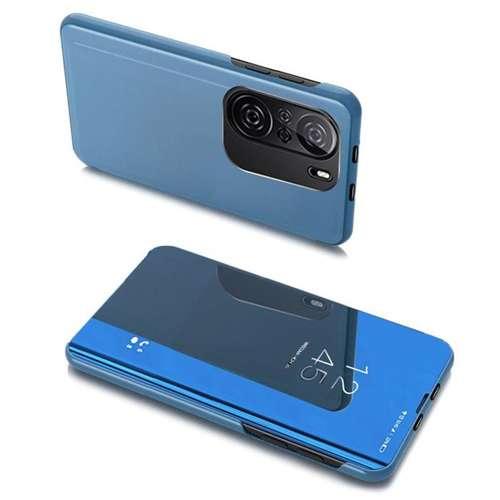 Clear View Case futerał etui z klapką Portfel Xiaomi Redmi K40 Pro+ / K40 Pro / K40 / Poco F3 niebieski