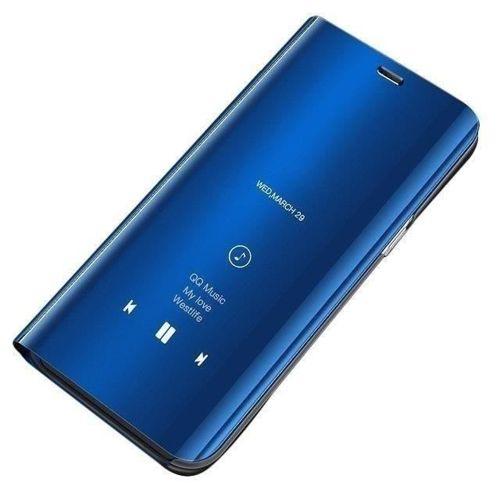 Clear View Case futerał etui z klapką Samsung Galaxy A10 / Galaxy M10 niebieski