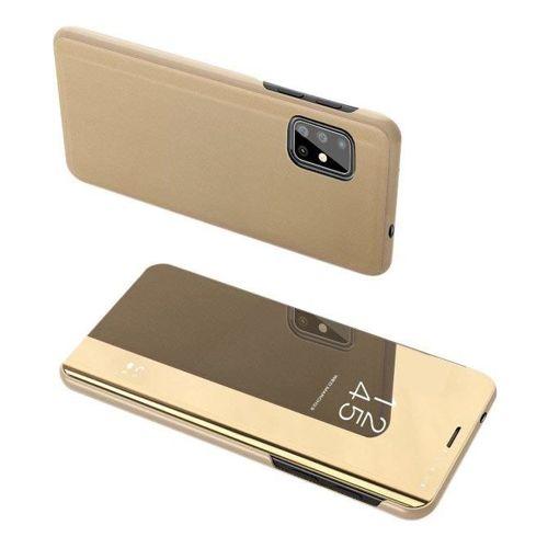 Clear View Case futerał etui z klapką Samsung Galaxy S20 Plus złoty