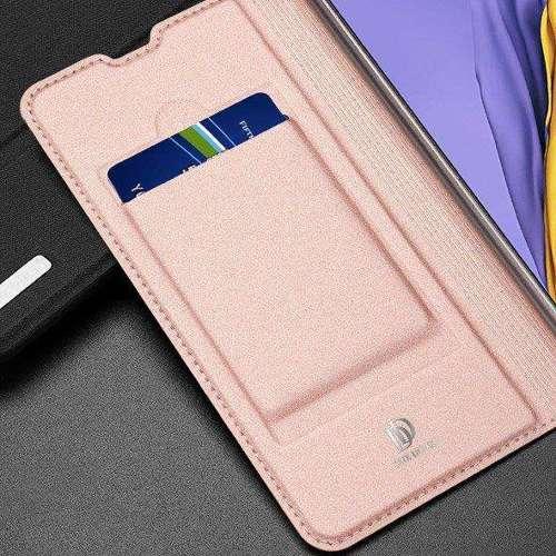 DUX DUCIS Skin Pro kabura etui pokrowiec z klapką Samsung Galaxy A51 różowy