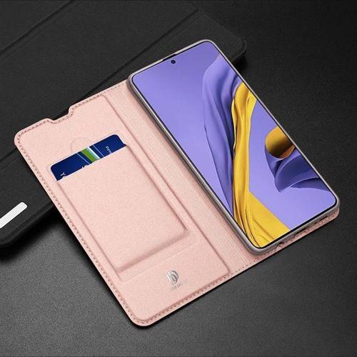 DUX DUCIS Skin Pro kabura etui pokrowiec z klapką Samsung Galaxy A71 różowy