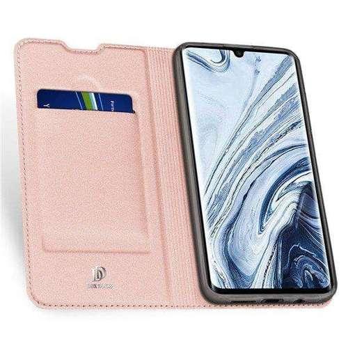 DUX DUCIS Skin Pro kabura etui pokrowiec z klapką Xiaomi Mi Note 10 / Mi Note 10 Pro / Mi CC9 Pro różowy