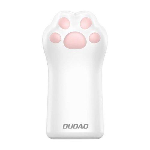 Dudao power bank 5000mAh 1A kotek kocia łapa łapka różowy (K5S pink)