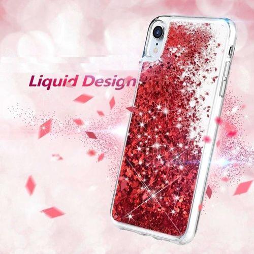 ETUI XIAOMI MI9 LITE Liquid plecki brokatowe czerwone