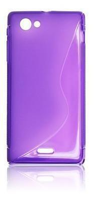 Etui BACK CASE S - SAMSUNG I9500 S4 FIOLET