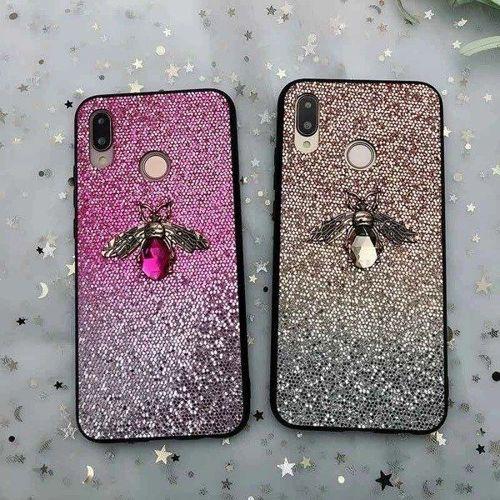 Etui Bee Glitter SAMSUNG GALAXY A40 różowe