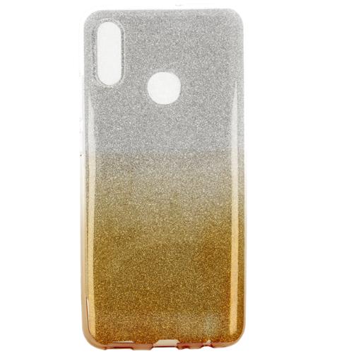 Etui Glitter HUAWEI P SMART 2019 srebrno- złote