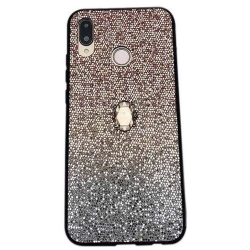 Etui HUAWEI P30 LITE Stone Glitter złote