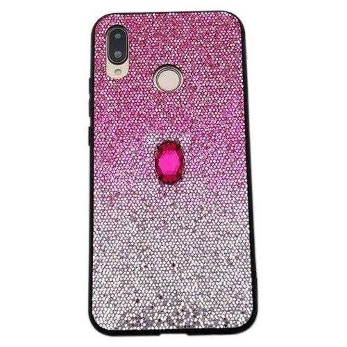 Etui IPHONE 6 / 6S Stone Glitter różowe