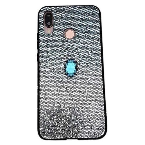 Etui IPHONE 7 / 8 Stone Glitter niebieskie