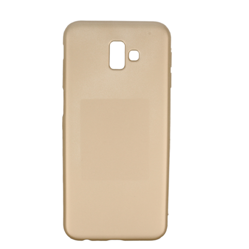 Etui Jelly Case Flash Mat SAMSUNG J6+ J6 PLUS złote
