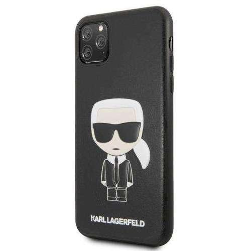 Etui Karl Lagerfeld KLHCN65IKPUBK iPhone 11 Pro Max hardcase czarny/black Iconic Karl Embossed