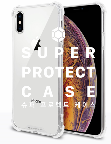 Etui Mercury Super Protect  IPHONE XR transparentne