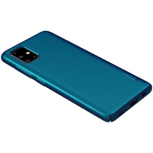 Etui NILLKIN FROSTED SHIELD Samsung Galaxy A51 BLUE