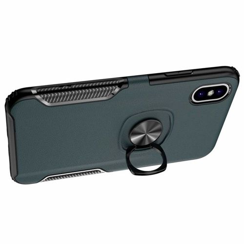 Etui Pancerne Armor Ring Cover Holder 360 IPHONE 7 czarne
