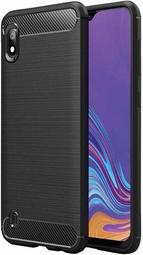 Etui Pancerne Carbon LG K20 czarne