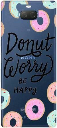 Etui ROAR JELLY Donut worry na Sony Xperia 10