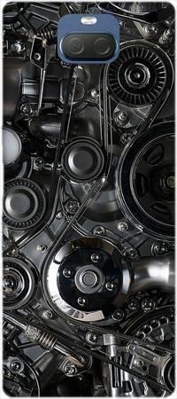 Etui ROAR JELLY czarna mechanika na Sony Xperia 10