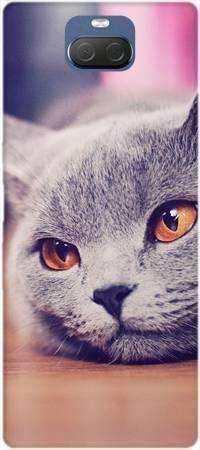 Etui ROAR JELLY lazy cat na Sony Xperia 10