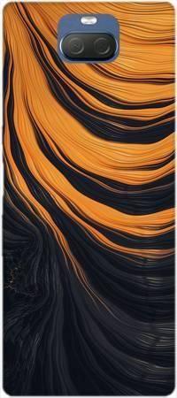 Etui ROAR JELLY pomarańczowa lawa na Sony Xperia 10